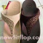 รองเท้า Fitflop Suisei เพชรกระจายใบไม้  No.F0235