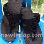 รองเท้า Fitflop Suisei เพชรกระจายใบไม้  No.F0236