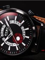 นาฬิกาแบรนด์เนม Eyki สายหนังสีดำ สไตล์ Classic livestyle
