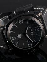 นาฬิกา infantry watch รุ่น IN-025-BLK-BL สไตล์ Vintage รุ่นใหม่ สีดำดุดัน