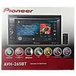 PIONEER AVH-265BT (เครื่องเล่นจอ 6.1 นิ้ว DVD/USB/Bluetooth)