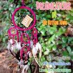 ตาข่ายดักฝัน (Dream Catcher) รุ่น ยอดนิยม สีชมพู