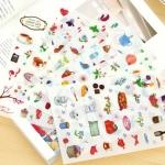 (6 แผ่น/ชุด) สติ๊กเกอร์ Ashling Vale Happy Life Sticker Set