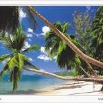 โปสการ์ด อ่าวพังกา เกาะสมุย จังหวัดสุราษฎร์ธานี /ทะเล/ชายหาด