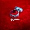 แหวนถมเงินหน้ากว้าง 8mm ราคาวงละ 1,500 บาท โดย เครื่องถมนคร by green