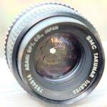 SMC TAKUMAR 55MM.F1.8 M42 MOUNT