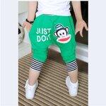 กางเกงพอลแฟรง สีเขียว ไซด์ 100-140