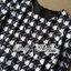 ( พร้อมส่งเสื้อผ้าเกาหลี) เดรสพิมพ์ลายฮาวด์สทูธสีขาวดำสไตล์ทางการ ตัวนี้เหมาะกับใส่ไปทำงานหรือใส่ไปงานทางการนิดนึงค่ะ แบบชุดเป็นแบบเรียบเก๋ ดูดีสไตล์ไฮโซ ทั้งตัวเป็นลายฮาวด์สทูธโทนสีขาว-ดำ ทรงเข้ารูปเน้นสัดส่วน ทำให้ดูหุ่นดี thumbnail 7