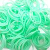 ยางซิลิโคน 100% (เขียว) 300 เส้น / Silicone Rubber loom 100% (green)