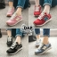 รองเท้าผ้าใบแฟชั่น N เย็บแต่งโลโก้ด้านข้าง thumbnail 1