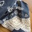Lady Elie Casual Cut-Out Lace Embroidered Dark Denim Dress L170-75E02 thumbnail 12
