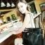 กระเป๋าหนังสีดำใบใหญ่ thumbnail 3