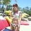 SM-V1-425 ชุดว่ายน้ำ เสื้อแขนสั้น+กางเกงบิกินี่ ลายขนนกสวย สีสันสดใส thumbnail 13