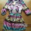 Lady Florence Hippie Chic Printed Satin Dress L191-75C07 thumbnail 16
