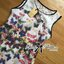 Lady Daria Feminine Insert Lace Colourful Butterfly Printed Dress thumbnail 12