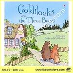 The Usborne Picture Book : Goldilocks and the Three Bears นิทานภาพ โกลดิล๊อคและลูกหมีสามตัว