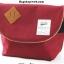 กระเป๋า ANELLO POLYESTER CANVAS SHOULDER BAG สี Red Wine thumbnail 1