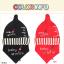 เซตหมวก+ผ้าซับน้ำลาย / ลายขวดนม (มี 6 สี) thumbnail 20