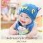 AP173••เซตหมวก+ผ้ากันเปื้อน•• / Cat [น้ำเงิน] thumbnail 3