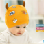 AP226••เซตหมวก+ผ้ากันเปื้อน•• / ดวงตา [สีเหลือง] thumbnail 2