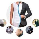 &#x2606 ไซส์ใหญ่ - ชุดกระชับสัดส่วนชาย กางเกงในชาย, บล๊อกเซอร์ - Plus Size Body Sculpture Vest, Underwears, Boxers