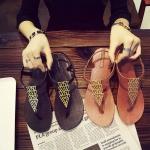 พรีออเดอร์ รองเท้าแตะแฟชั่น เบอร์35- 40 แฟชั่นเกาหลีสำหรับสุภาพสตรีไซส์ใหญ่ สวย เก๋ เท่ห์ ไม่ซ้ำใคร - Preorder Large Size Women Korean Hitz Sport Shores