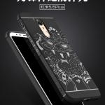 เคส Xiaomi Redmi 5 Plus TPU สีดำ (ลายมังกร)