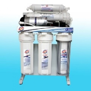 เครื่องกรองน้ำ 5 ขั้นตอน Reverse Osmosis Treatton แบบตั้งพื้น