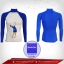 เสื้อรัดกล้ามเนื้อ รุ่น Quick Dry กอล์ฟ มีรูระบายอากาศ สีน้ำเงิน mediumblue thumbnail 1