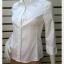 BN4838--เสื้อเชิ้ต นำเข้า แบรนด์เนม สีขาว BANANA REPUBLIC อก 33 นิ้ว thumbnail 3