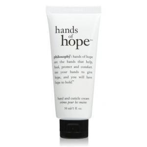 Philosophy hands of hope and and cuticle cream [1oz][No Box] ครีมบำรุงมือสำหรับผิวแห้ง ให้กลับมาชุ่มชื้นยาวนาน และนุ่มขึ้น ช่วยปกป้องมือคุณ