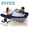 Intex Classic Downy Queen ที่นอนเป่าลม 5 ฟุต สีฟ้า พร้อมสูบไฟฟ้า 68759