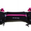 กระเป๋าคาดเอวพร้อมขวดน้ำ 2 ขวด (สีชมพู) Hydration Running Belt