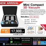 Mini Compact 3D Vacuum