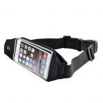 กระเป๋ามือถือ iphone6+ คาดเอวพร้อมช่องใส่ของด้านหลัง พิเศษสามารถทัชผ่านกระเป๋าได้เลย - กระเป๋าคาดเอวกันน้ำ ใส่มือถือจอ 5.5 นิ้ว (IPHONE 6S PLUS) กระเป๋าคาดเอวพร้อมเคสใส่มือถือ ทัชสกรีนได้โดยไม่ต้องเอาโทรศัพท์ออกมา