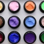 เจลสำหรับปั้นนูนพิเศษ โทนสี 3 ปั้นง่าย ติดทน ไม่ติดมือ Memory nail Color Gel UV / LED For 3D Sculpture