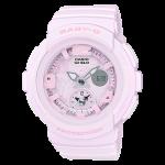 นาฬิกา Casio Baby-G Beach Traveler Pastel Bold Color series รุ่น BGA-190BC-4B (ชมพูพาสเทล) ของแท้ รับประกัน1ปี