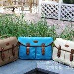 กระเป๋ากล้องเกาหลีสุดcool!!!(Pre) ใบใหญ่ และกลาง มี3สีให้เลือก น้ำตาล ฟ้า และครีม
