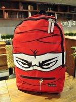 [สีแดง] กระเป๋าสะพายหลัง   เป้เดินทาง   เป้หนังผู้ชาย   เป้ผู้หญิง สไตล์แฟชั่นเกาหลี