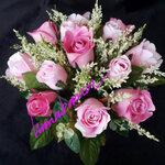 แจกันดอกไม้ประดิษฐ์ เล็ก