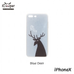 MAOXIN Island Case - Blue Deer (iPhoneX)