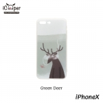 MAOXIN Island Case - Green Deer (iPhoneX)