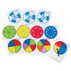 ของเล่นเด็ก ของเล่นเสริมพัฒนาการ Write & Wipe Probability Spinner, Set of 12