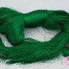 ไหมเทียม สำหรับทำพู่ สีเขียวเข้ม 1กิโล(1,000กรัม/10ใจ)