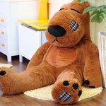 ตุ๊กตาหมีแบคค่อม ตุ๊กตาตัวใหญ่ ขนาด 1.6 เมตร สีน้ำตาลเข้ม