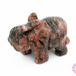 หินอาเกต ช้าง 24X50มิล (1ชิ้น)