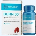 GNC Burn60 (เบิร์น60) อาหารเสริมลดน้ำหนัก เพิ่มเผาผลาญได้อีก60% มีผลศึกษาทางคลีนิกรองรับ ที่ช็อปในไทยไม่มีขายนะคะ