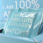 [ขนาดทดลอง 10 ซอง] แบ่งขายเป็นซอง 10 ซอง DR.ABSOLUTE Collagen คอลลาเจนบริสุทธิ์ 100% นำเข้าจากเยอรมัน เพื่อผิวขาวกระจ่างใส ผิวเนียน ลดริ้วรอยเหี่ยวย่น ปลอดภัย มี อย. ส่งฟรี EMS