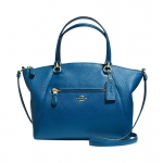 preorder COACH PRAIRIE SATCHEL IN PEBBLE LEATHER Style No: 34340