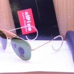 Alpino ทรง AO3030 กรอบทอง เลนส์เขียว ขาม้วน พร้อมกล่อง+ผ้า